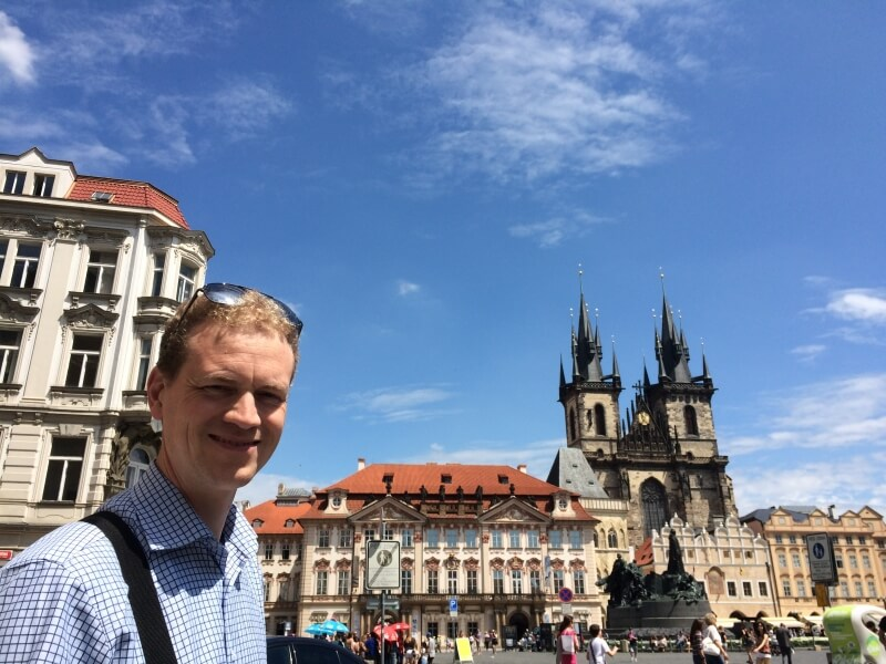Visit Prague, a gorgeous city with magnificent architecture