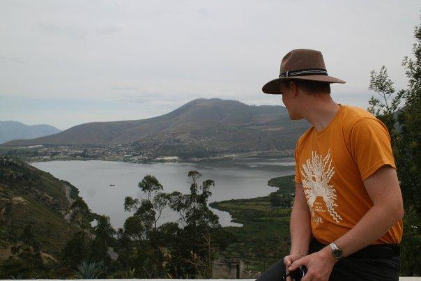 Yahuarcocha lake in Ibarra (Blood lake said in quichua)