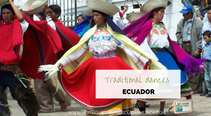 Traditional dances from Ecuador – South America