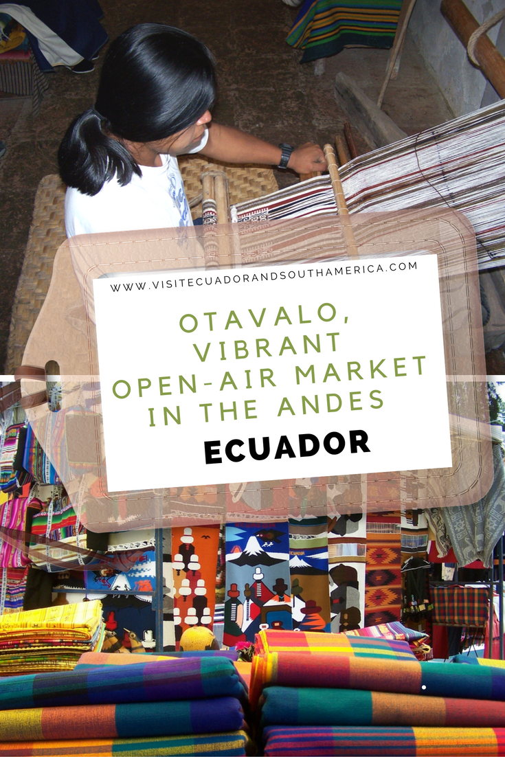 Otavalo, vibrant open-air market in the Andes