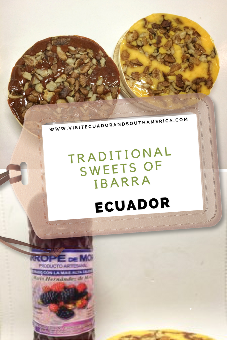 traditional sweets of ibarra