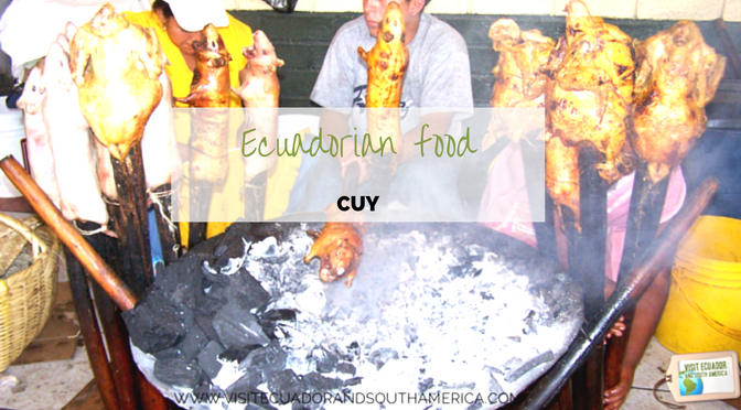 Ecuadorian food: cuy