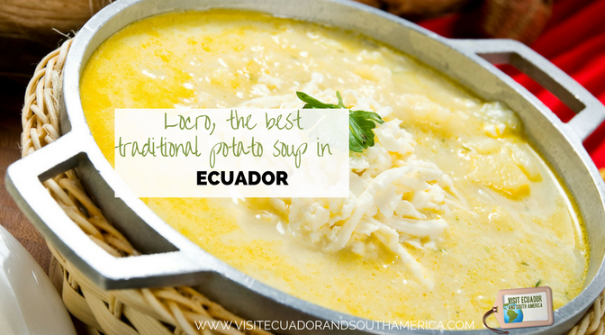 Locro, the best traditional potato soup in Ecuador!