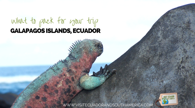 What to pack for your memorable Galapagos Islands trip