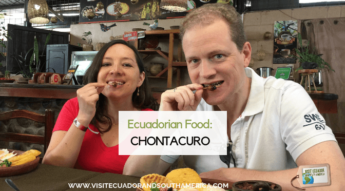 Chontacuro a delicacy from the Amazon Rainforest, Ecuador