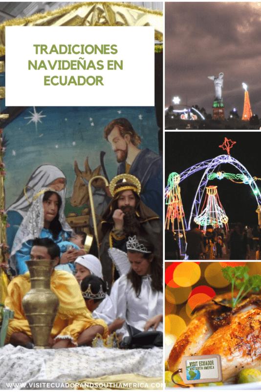 Tradiciones navideñas en Ecuador