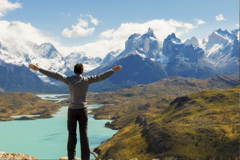 From El Calafate Torres del Paine 4x4 Full-Day Tour
