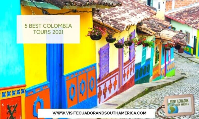 5 Best Colombia Tours 2021