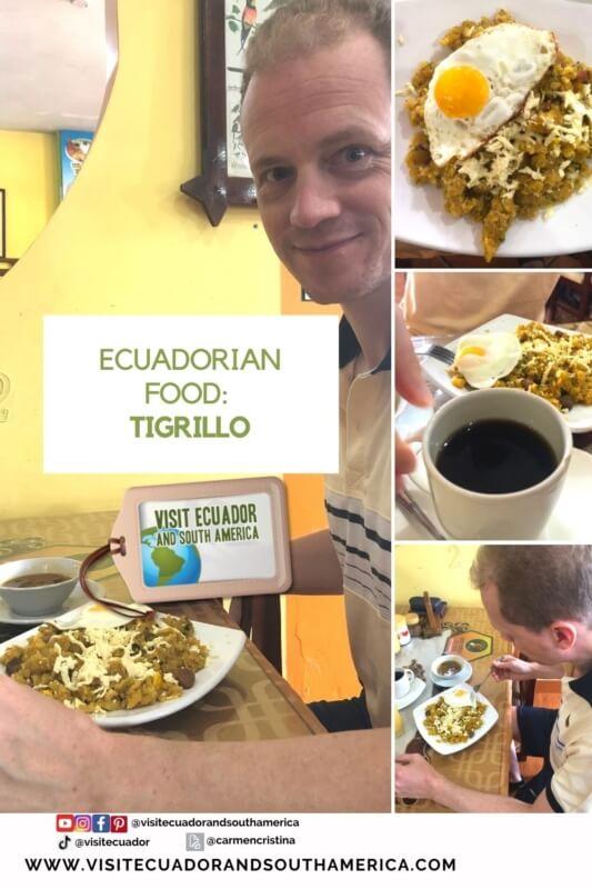 Ecuadorian food Tigrillo